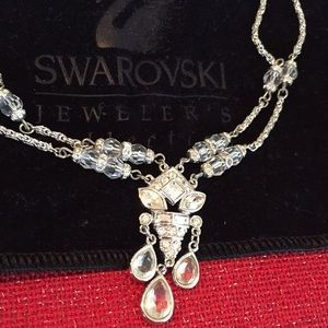 Swarovski Jeweler's Collection Necklace New & Bag
